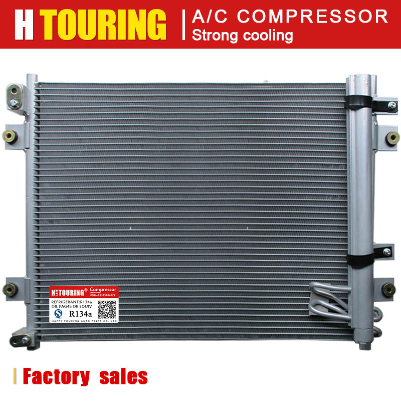 AC Condenser A//C Air Conditioning with Receiver Dryer for Mercedes Brand New
