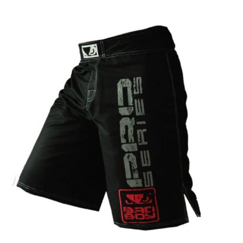 SUOTF Kickboxing Fight Training Trunks MMA Men UFC Fighting Pants Sports Fitness Gym Bodybuilding Shorts Muay Thai Trousers