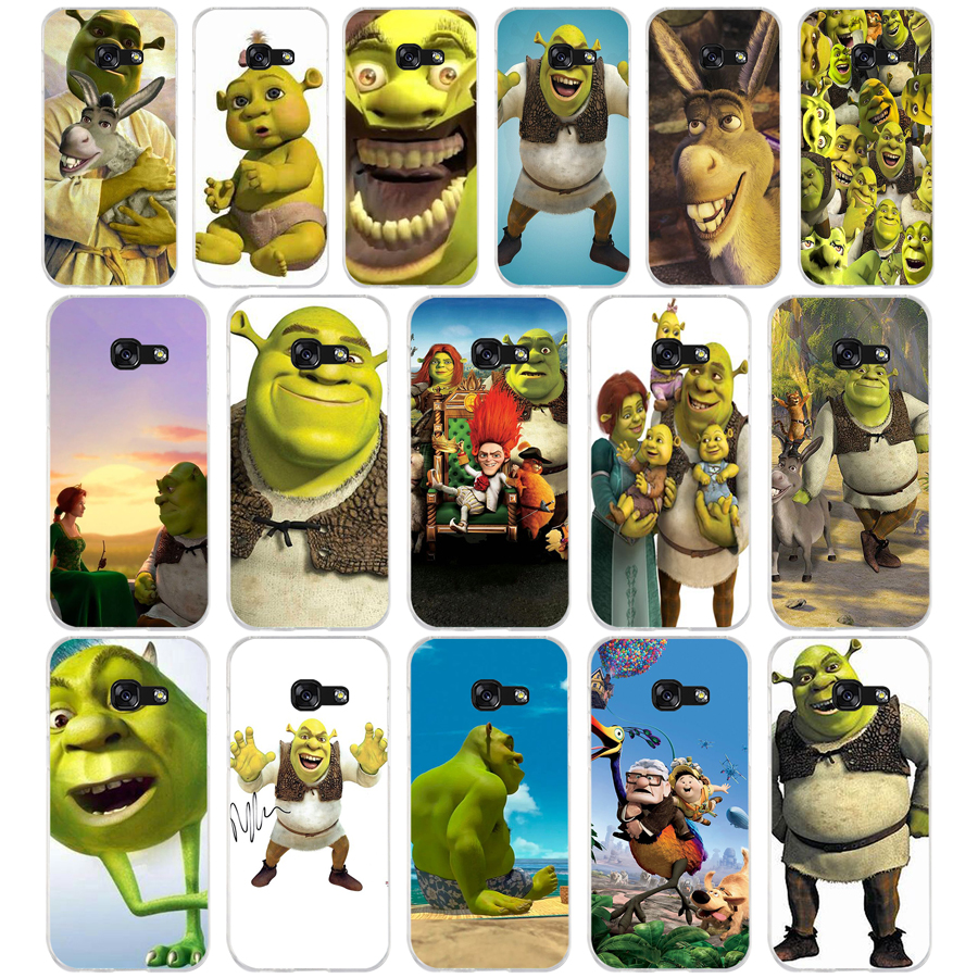 359FG <font><b>Cartoon</b></font> Moive Shrek Coon Soft Silicone Tpu Cover <font><b>phone</b></font> <font><b>Case</b></font> for <font><b>Samsung</b></font> a3 <font><b>2016</b></font> <font><b>a5</b></font> 2017 a6 plus a7 a8 2018 s6 7 8 9 image