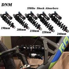 Прочный горный велосипед MTB, металлическая задняя подвеска, пружинный амортизатор, детали для велосипеда, для горного велосипеда, задние амортизаторы