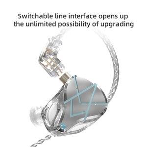 Image 2 - KZ ASX 10BA Unit 20Balanced Armature In ear Earphones HIFI Metal Monitor Headset  Sports Earbud Earphones KZ ZAX BA5 AS16 BA8