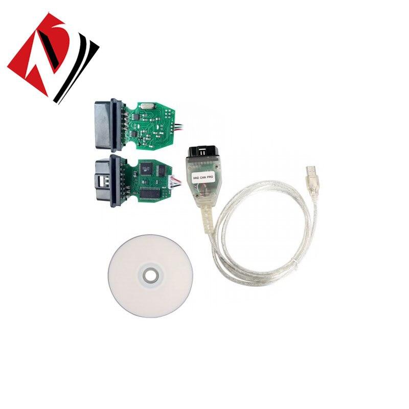 V G PRO puede BUS + UDS + K-line S.W versión 5.5.1 VCP escáner
