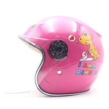 Motorcycle Children Helmet Kids Bicycle Helmets Cartoon Safe