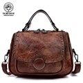Женская сумка-тоут в стиле ретро из искусственной кожи, ручная сумка, переносная женская сумка на плечо, женские дизайнерские сумки