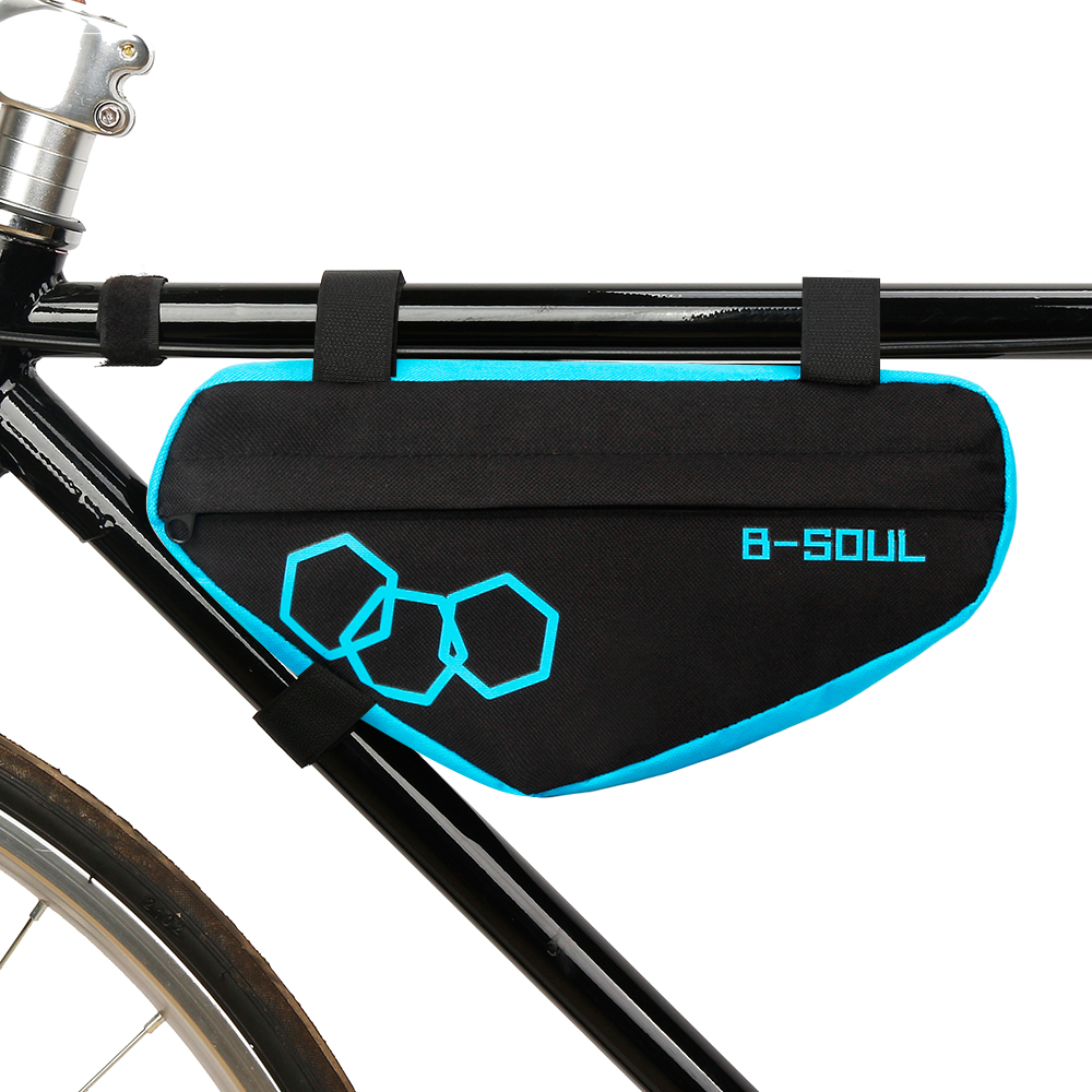 Waterproof Triangle MTB Cycling Bike Bicycle Front Tube Frame Pouch Saddle Bag