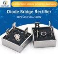 2 шт. KBPC5010 50A 1000V диодный мост выпрямитель kbpc5010