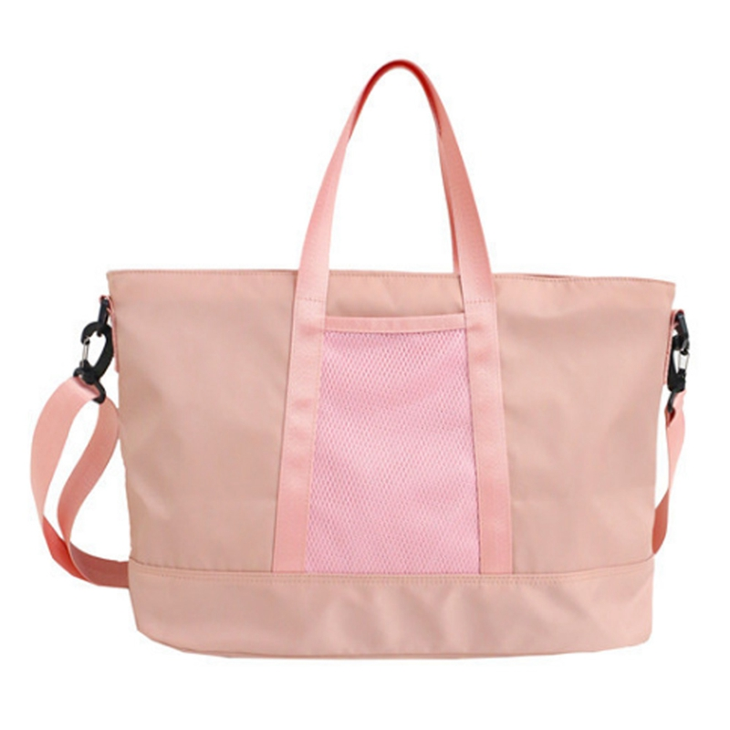 Women Waterproof Nylon Casual Totes Yoga Mat Bag Sac Sport Training Fitness Travel Handbags Lady Stylish Outdoor Sports Gym Bags