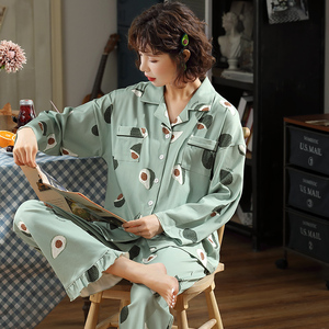 Image 2 - BZEL Fashion Womens Pajamas Sets Cotton Casual Homewear Loungewear Ladies Nighty Kawaii Pijamas Pyjamas Big Size Nightwear XXXL