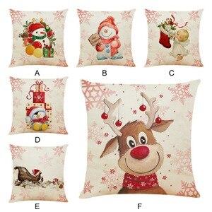 Cute Cartoon Linen Christmas S