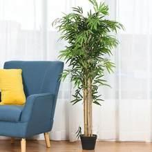 10 pièces Offre Spéciale Artificielle En Plastique Feuilles De Bambou Maison Plantes Simulation Bureau Décorations Fournitures Restaurant Vert