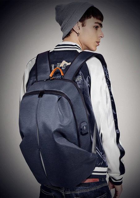 Waterproof Leather Laptop Bag Multi-Function For Work Travel Sport or School Backpack