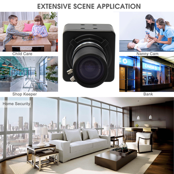 1920X1080P Megapixel Sony IMX322 high sensitivity  OTG UVC H264/MJPEG 30fps 5-50mm Varifocal Usb Web Camera for Computer,tablet 4