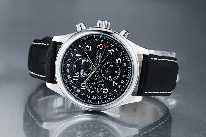 H658276d1eb694d3e93cc6909694307a0a GUANQIN Automatic Mechanical Men Watches Top Brand Luxury Waterproof date Calendar Moon Leather Wristwatch Relogio Masculino A