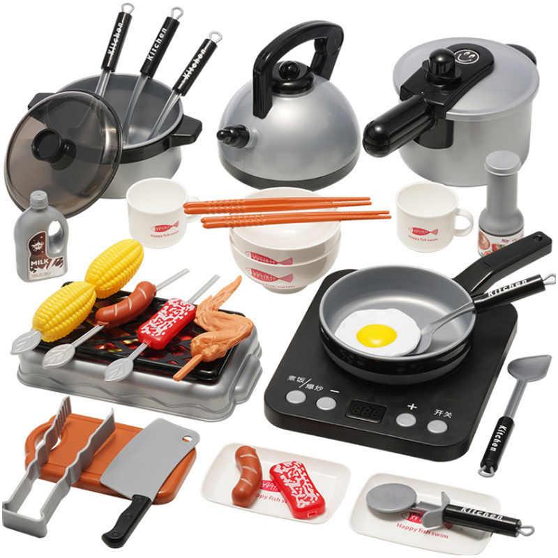 Pretend Play Kitchen Set Cooking
