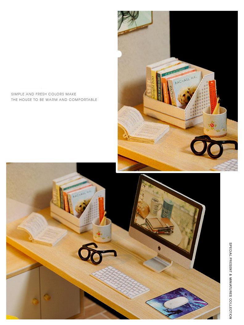 H6583414184ad4459bfee854a18f6a0675 - Robotime - DIY Models, DIY Miniature Houses, 3d Wooden Puzzle