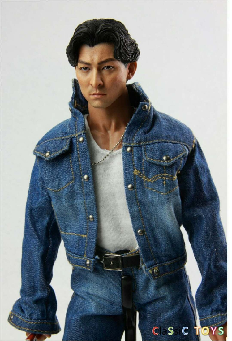"""1//6 Scale Denim Veste Jeans Set Pour 12/"""" figure féminine corps"""