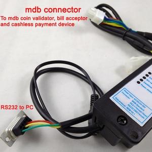 Image 5 - Платежное устройство MDB для ПК, Конвертер RS232 (поддержка MDB, устройство для проверки монет, акцептор, безналичный перевод и устройство для долларов США)