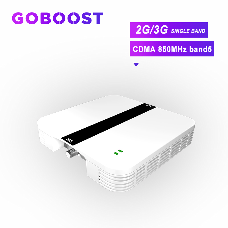 Repeater 850MHZ CDMA 2G 3G Cellular Signal Booster Band5 60dB GSM Cell Phones Amplifier Mobile Singal Booster GSM 2G 3G Ki T>