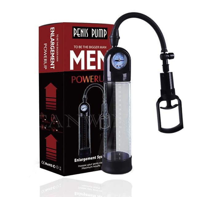 Penis pro Extender gerät Vakuum sex Spielzeug für Männer 6