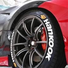 Autocollant universel pour pneus de voiture, lettres en caoutchouc, Logo 3D, pour moto, bricolage, style