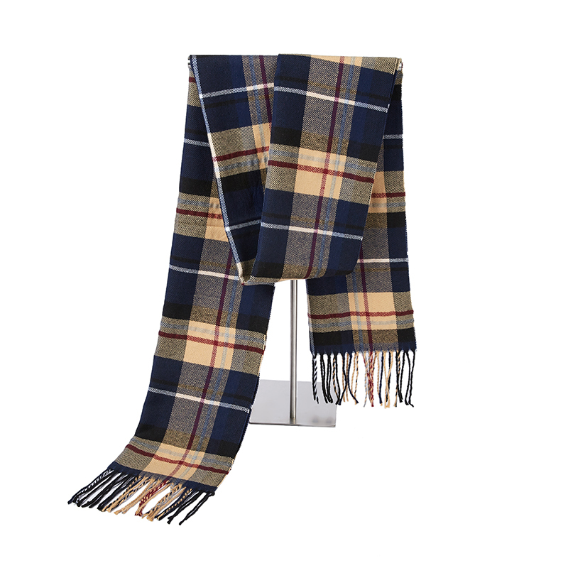 2019 Plaid Winter Scarf Women Warm Foulard Solid Scarves Fashion Casual Scarfs Cashmere Bufandas Hombre