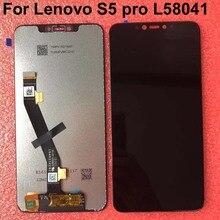 """Alle Neue Original Qualität 6,2 """"Für Lenovo S5 Pro L58041 S5 pro GT L58091 LCD Display Mit Touch Sensor screen Digitizer Montage"""