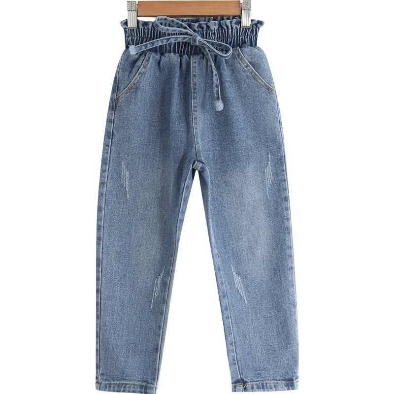 Pantalones Vaqueros De Estilo Occidental Para Ninos Pantalones De Primavera De Otono Pantalones De Nina Leggings De 3 13 Anos Ropa Para Ninas Pantalones Aliexpress