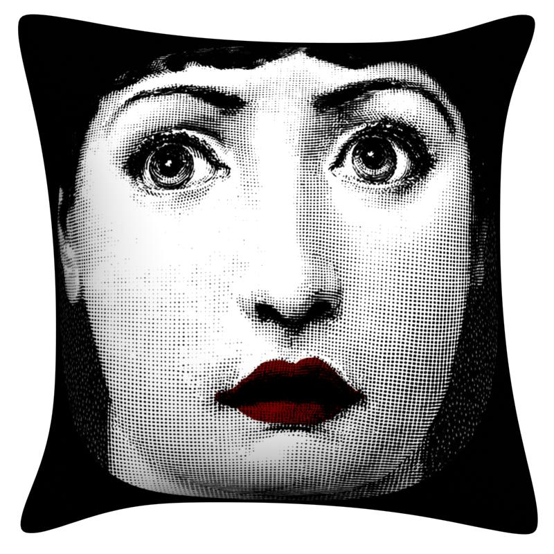 zara women Dropshipping Pillow case Fornasetti Series for Art Bedroom A Living Room Home Hall Decorative Cushion Pillow Cover in Cushion Cover from Home Garden