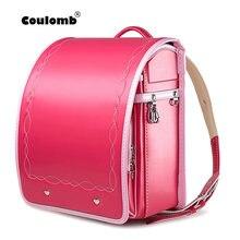 Colomb Базовый стиль ручной работы Детский рюкзак милые школьные