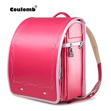 Children's Backpack Waterproof Bag School-Bags Orthopedic Randoseru Japanese Girl Kid