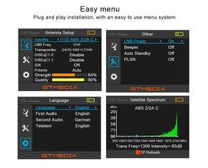 Image 5 - GTmedia V8 Finder Satellite Finder Dvb s2 s2x HD Sat Finder Satellite Signal finder Meter Digital Live Digital satellite Finder