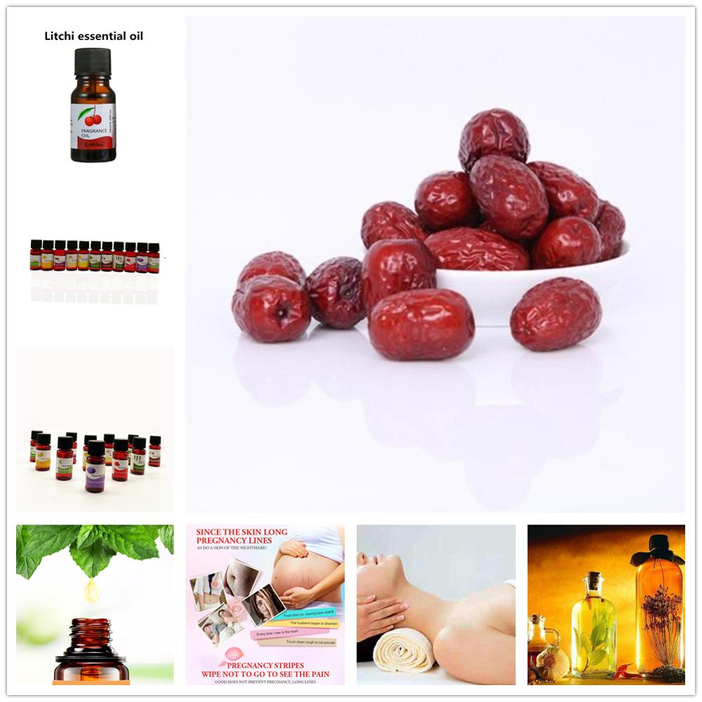 Jujube Essential Oil DIY Edible Flavor Air Freshening Aromatherapy 10 Flavors Essence Add To Face Mask Lip Glaze Lip Blam