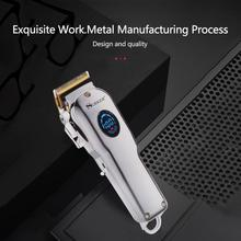 SURKER SK-807B Portable Electric Hair Clipper Rechargeable Mini Hair Trimmer Cutting Machine Beard Trimmer Razor Style