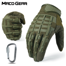 Outdoor Sports Tactical Gloves Full Finger Long Camo Glove Army Military Anti-skip Gear Airsoft Biking Shooting Paintball Men