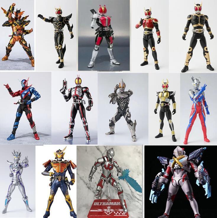 SHF аниме Ultraman Masked Rider Kamen Rider Сочлененная Коллекция Фигурки Модель игрушки
