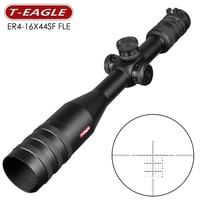 T Eagle 4 16x44 SFFLE Scope Hunting Optical Sights Side Focusing Rifle Scope Sniper Riflescope Gear Out Optics Range Rifles