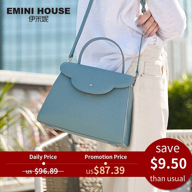 Bags Designer Crossbody-Bags Emini-House Handbag Luxury Cloud Women Split