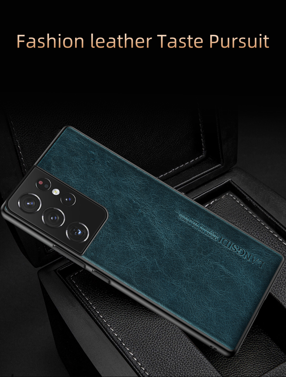 Galaxy S21 Ultra Leather Case 20