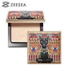 ZEESEA – poudre compacte compacte, 3 couleurs, correcteur, contrôle de l'huile, imperméable