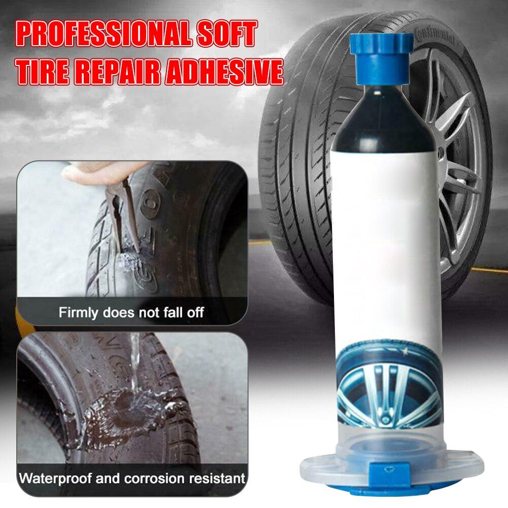 30ml Car Tire Repair Glue Sticker Adhesive Glue Useful Flexement Tyre Repair Glue Car Accessories