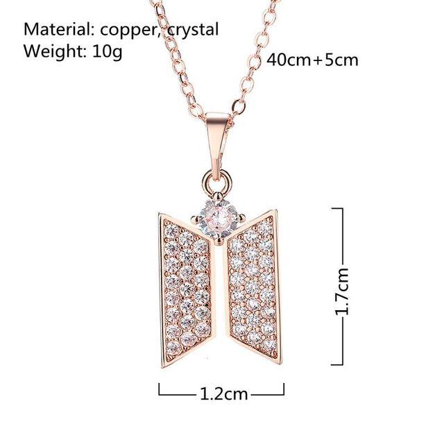 BTS Jewelry Logo Necklace 2