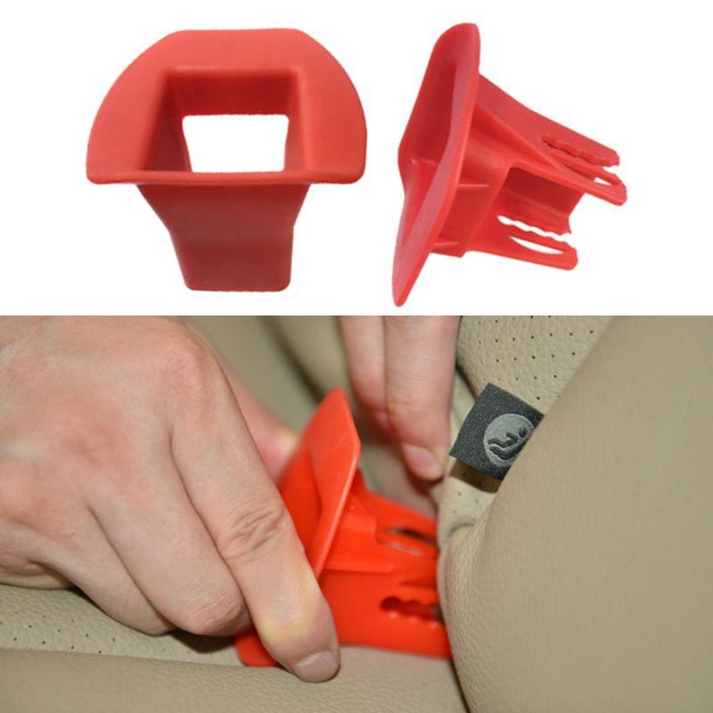 Car Universal Fixed Guide Groove For Children Baby Safety Kids Seat Belt Fixing Buckle