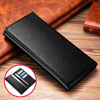 Genuine Leather Pouch For Samsung Galaxy Note 20 S20 Ultra Case Phone Handbag For Samsung S8 S9 S10 S21 Plus Cases Wallet Pocket 1