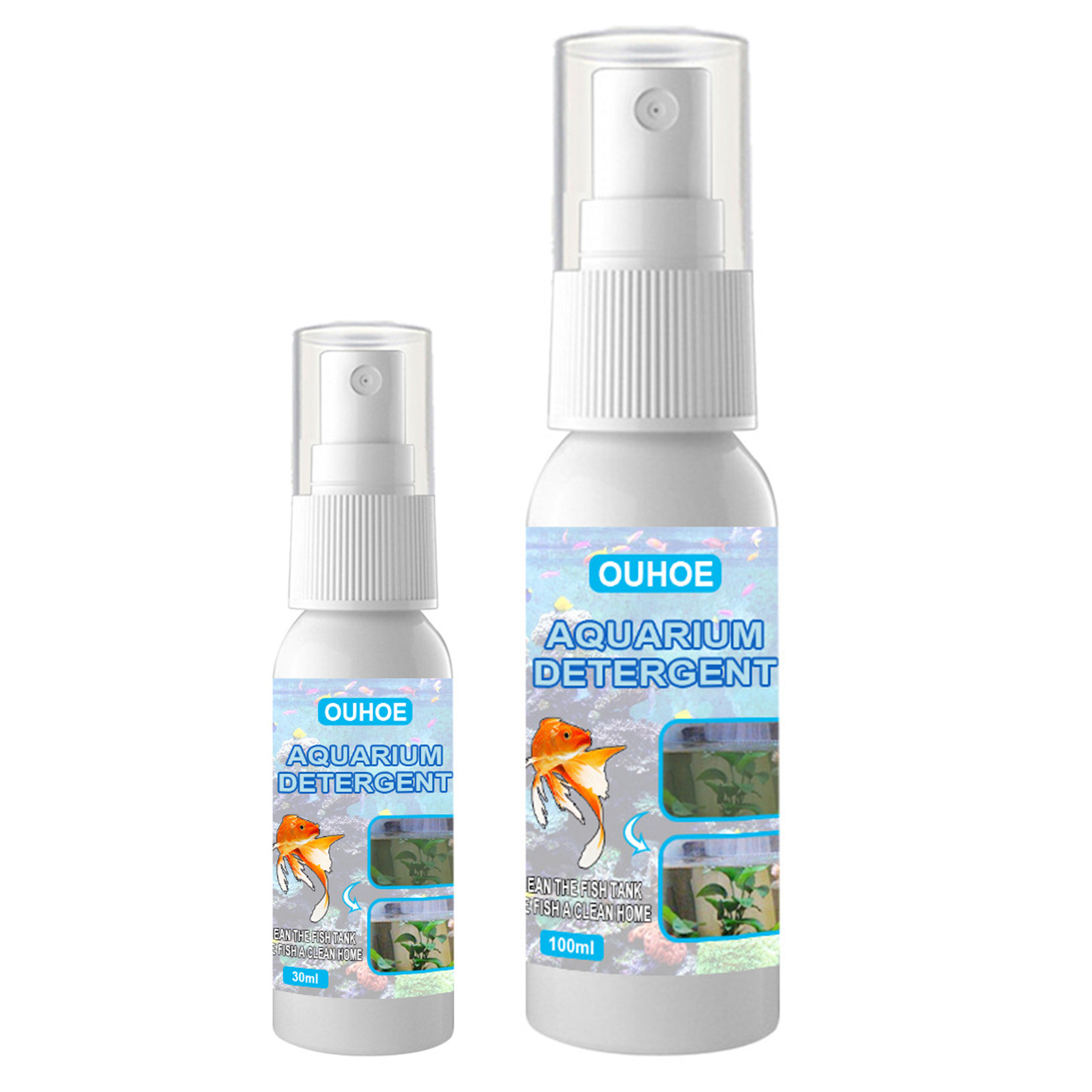 Aquarium Aquatic Algae Control Purifier Agent High Effective Safe Nuisance Algae Remover Highly Efficient And Easy To Use