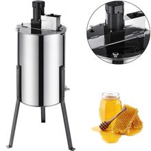 VEVOR Electric Honey Extractor 3 Frame Stainless Steel Honeycomb Spinner Crank Bee Honey Centrifuge Beekeeping Equipment