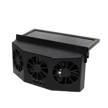3 Cooling Exhaust Cooler Solar Energy Conditioner Auto Portable Vent Safe Car Fan Air Cooler(China)