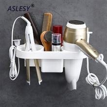 Đa chức năng Phòng Tắm Lưu Trữ Máy Sấy Tóc Giá Đỡ Tắm Người Tổ Chức Tự dán Treo Tường Kệ Nhựa Dầu Gội Cực Bền