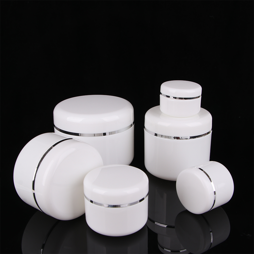 Travel Portable Lotion Face Cream Storage Box Cosmetic Container Round Empty Bottles Refillable Box Jar 20/30/50/100/150/250g