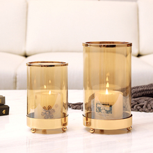 Wedding Centerpieces Candle Holder The Nordic Candlestick Romantic Candlelight Dinner Props Decoration Modern Living Room Table crystal candle holders european upscale candlestick table romantic candle sticks wedding centerpieces for home decoration