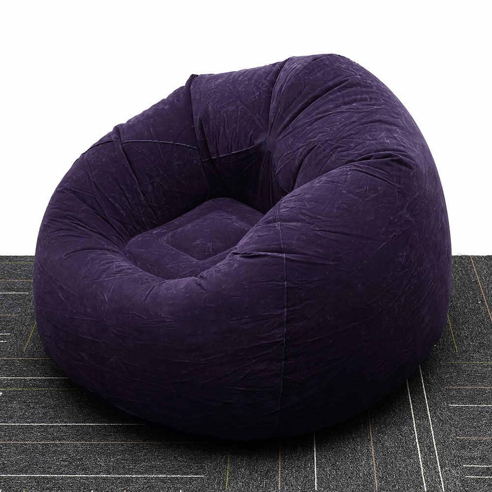 Grand paresseux gonflable canapé chaises PVC chaise longue siège haricot sac canapés Pouf bouffée canapé Tatami salon